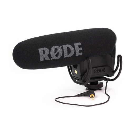 Rode VideoMic Pro With Rycote Lyre Shock Mount Compact Condenser Microphone