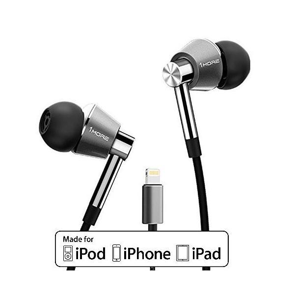 1More Triple Driver Lightning In-Ear Earphone with Microphone