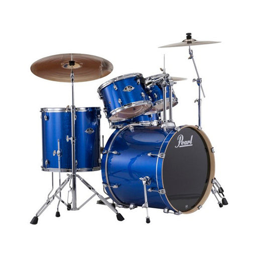 Pearl TGX625S Target Hybrid 5 Pcs With Hardward Drum Kit - Steel Blue