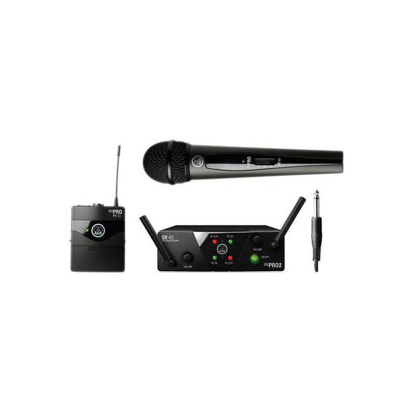 AKG WMS40 Mini2 Mix Set Dual US45A/C