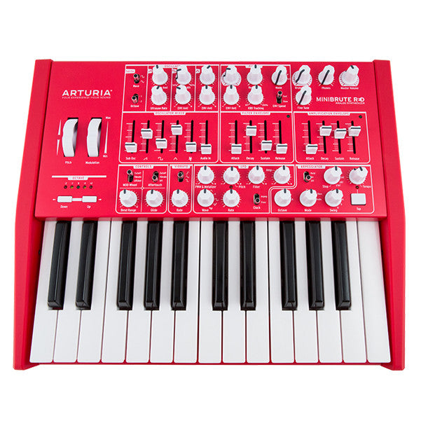 Arturia MiniBrute Monophonic Analog Synthesizer - Red