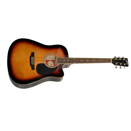 Amaze AW41CE-201 Electro-Acoustic Guitar - Sunburst -Open Box
