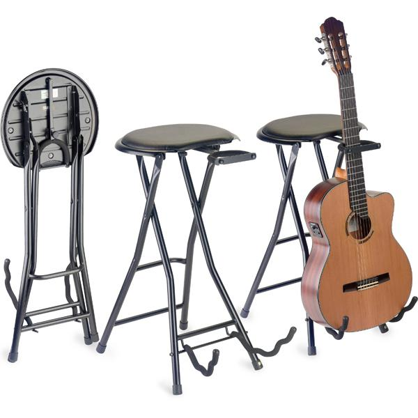 Stagg GIST-350 Foldable Round Stool With Built In Guitar Stand  sc 1 st  Bajaao.com & Buy Stagg GIST-350 Foldable Round Stool With Built In Guitar Stand ... islam-shia.org