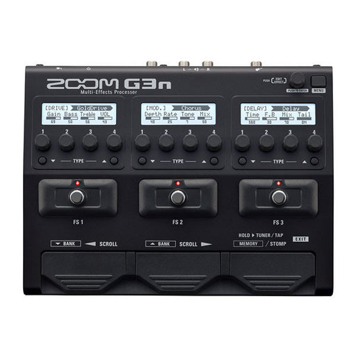ZOOM G3n Intuitive Multi-Effects Guitar Processor