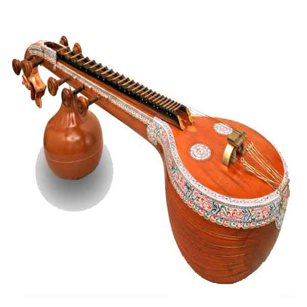 Bajaao Professional Ekanda Veena With Light Case
