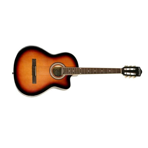 Santana HW39C-201 Cutaway Acoustic Guitar - 39 Inch, Sunburst - Open Box