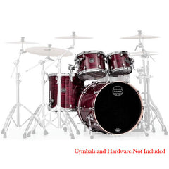 Mapex Saturn MH 4pc Rock Drum Set Red Pearl Strata - SNM529XPC
