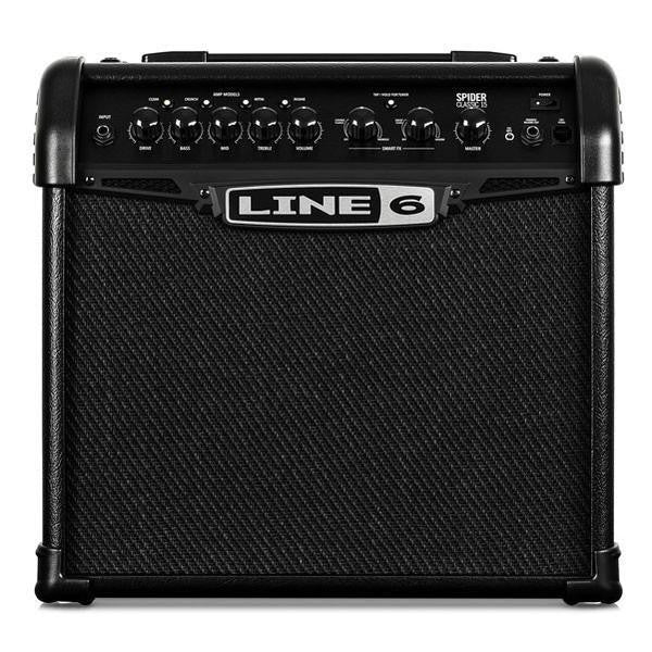 Line 6 Spider Classic 15 Guitar Amplifier - Spider IV Upgrade
