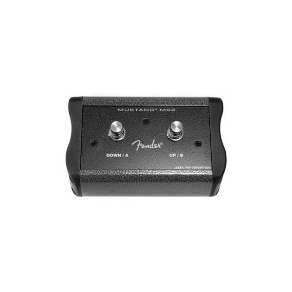 bajaao com buy fender 2 button footswitch for mustang amps black online india musical. Black Bedroom Furniture Sets. Home Design Ideas