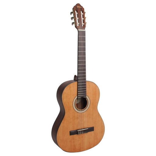 Valencia VC404 4/4 Size Transparent Satin Finish Classical Guitar