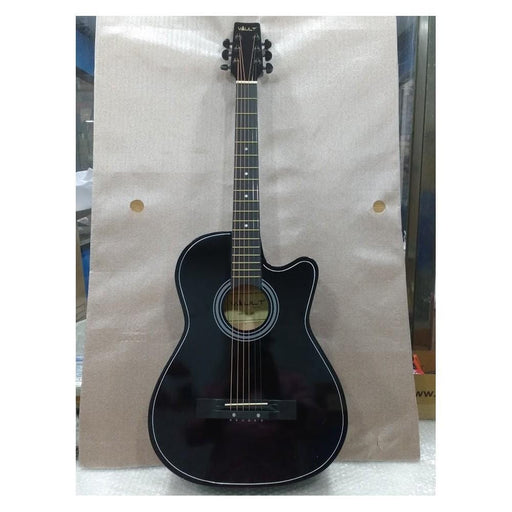Vault 38C 38 inch Cutaway Acoustic Guitar Pack - Black - Open Box B Stock