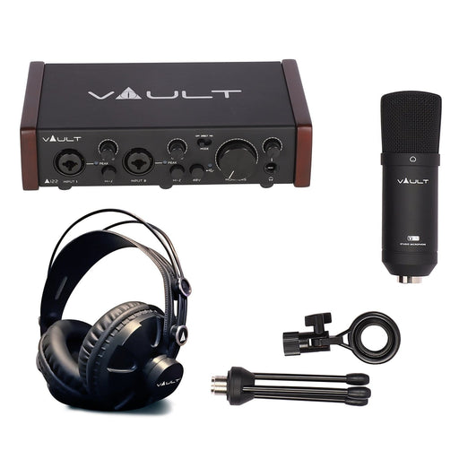 Vault Ai22 2x2 Studio Recording Bundle with Bitwig 8-Track and Free Online Course