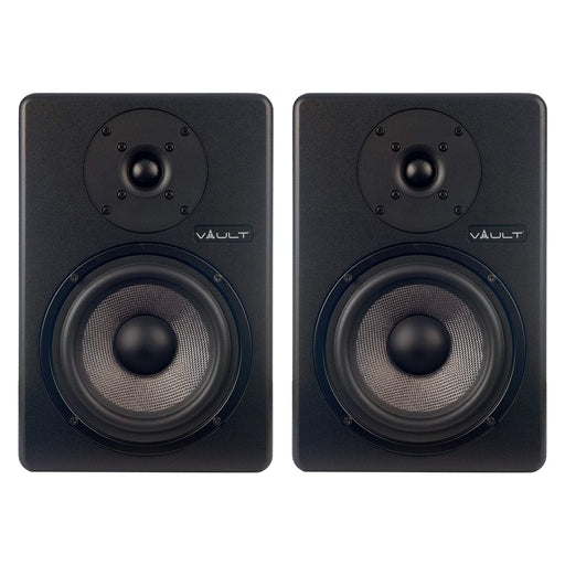 Vault C6 6-Inch Powered Studio Monitors - Pair