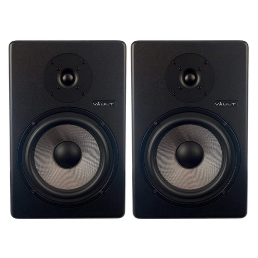 Vault C8 8-Inch Powered Studio Monitors - Pair