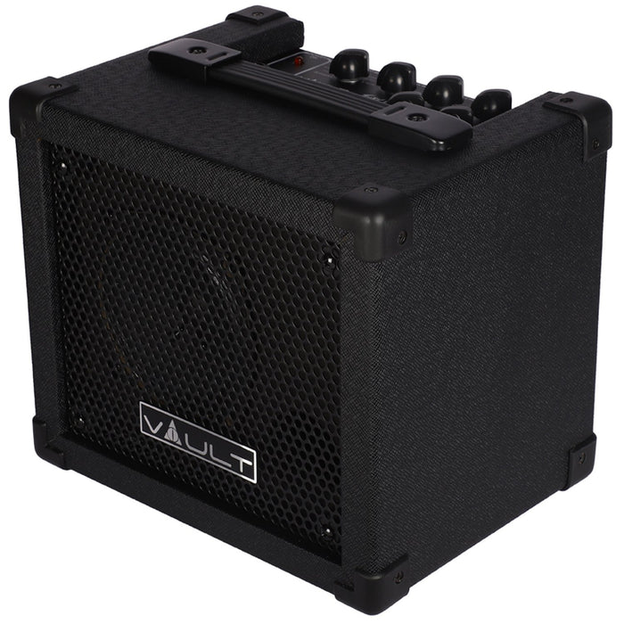 vault fury 15 watt digital guitar combo amplifier with effects and 36. Black Bedroom Furniture Sets. Home Design Ideas