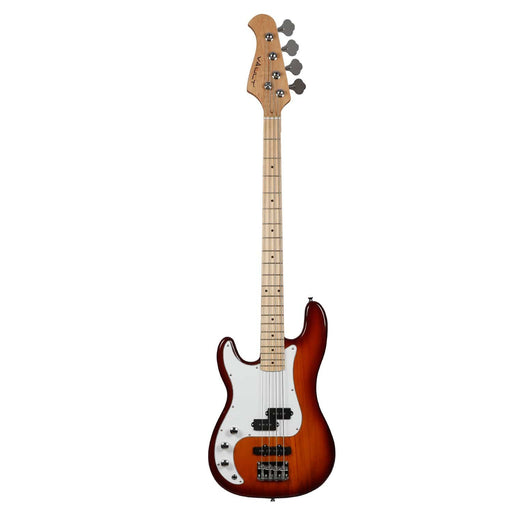 Vault PJ Style Left-Handed 4-String Electric Bass Guitar - Maple Fretboard