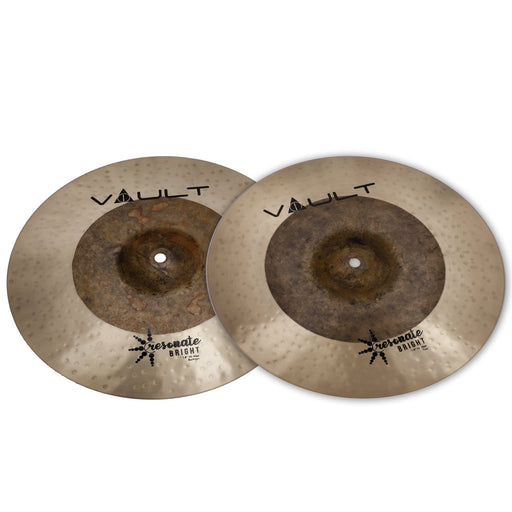 Vault Resonate Bright Series 14-Inch Hi-Hats Cymbals - Pair