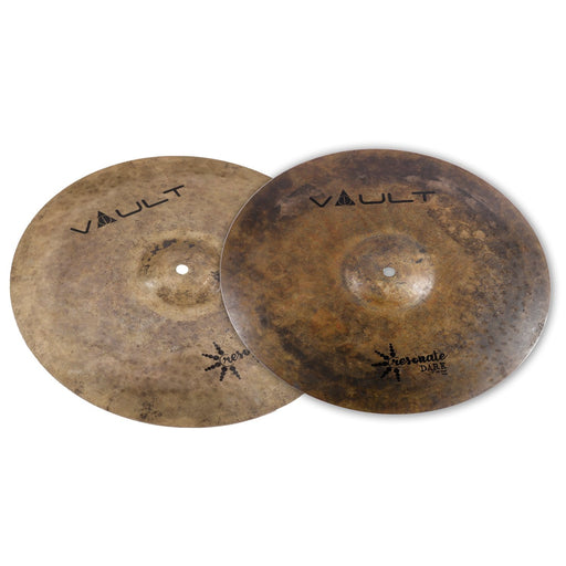 Vault Resonate Dark Series 15-Inch Hi-Hats Cymbals - Pair