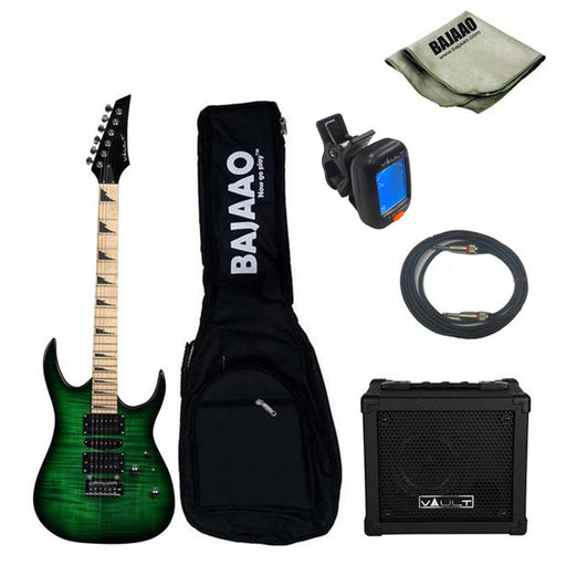Vault RG1M Soloist Electric Guitar Basic Bundle - Maple Fretboard
