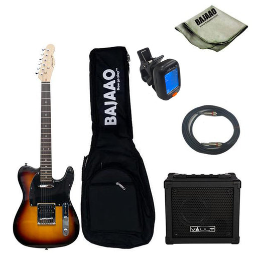 Vault TL1RW Electric Guitar Basic Bundle - Rosewood Fretboard