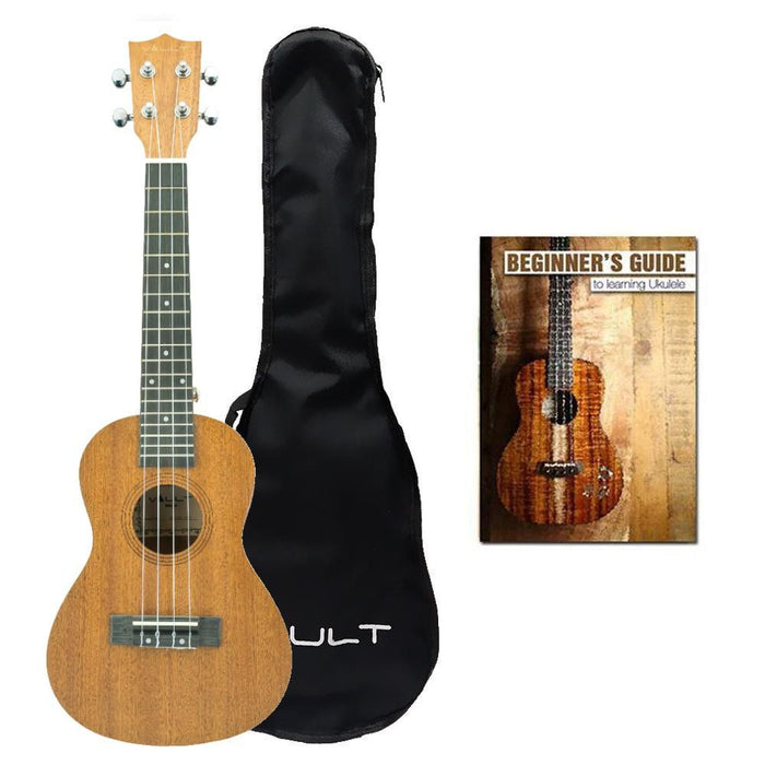 Vault UK-C100 Concert Ukulele With Gig Bag