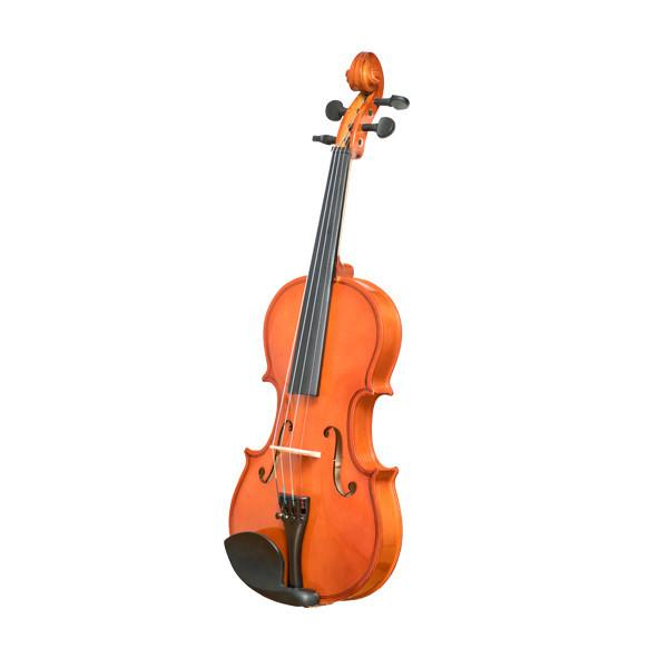 Vault VI1010 3/4 Beginner's Violin With Hard Case, Rosin and Bow - Open Box