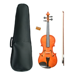 Vault By Bajaao VI1010 3/4 Beginner's Violin With Hard Case, Rosin and Bow