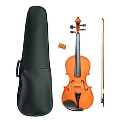 Vault VI1020 4/4 Beginner's Violin By Bajaao With Hard Case, Rosin and Bow