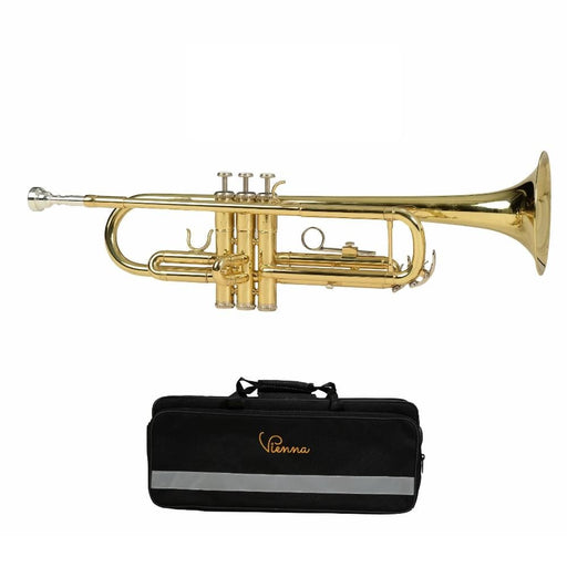 Vienna YWTR01 Trumpet- Gold Lacquer