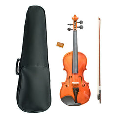 Vault By Bajaao VI1000 1/2 Beginners Violin With Hard Case, Rosin and Bow