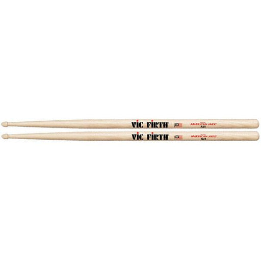 Vic Firth AJ1 American Jazz Hickory Wood Tip Drumsticks