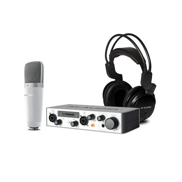 M-Audio Vocal Studio Pro II Bundle with Microphones, Headphones and Plugins