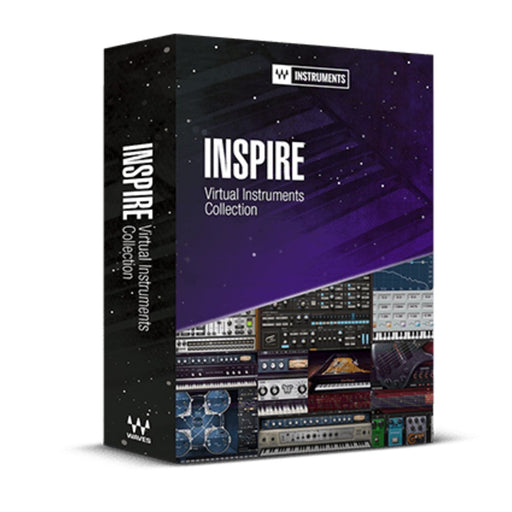 Waves Inspire Virtual Instruments Collection Plugin Bundles