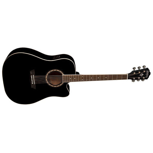 Washburn WD10CEB/BL/R Apprentice Series Acoustic Guitar