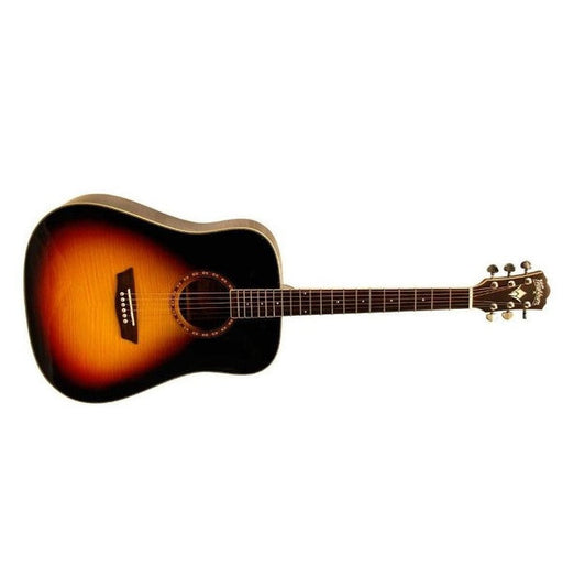 Washburn WD10FSB Acoustic Guitar - Tobacco Sunburst