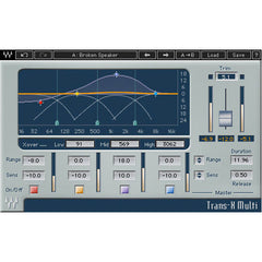 Waves TransX Transient Shaper Native Plugin