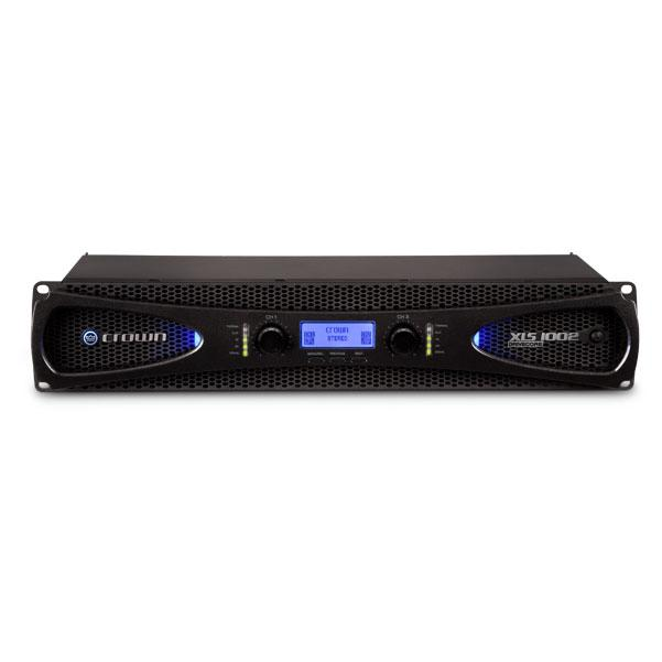 Crown XLS4 1000W Power Amplifier With XOVER And LIMTR230- 240V Power Amplifier
