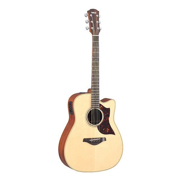Yamaha A3M Dreadnought Cutaway Electro Acoustic Guitar - Natural