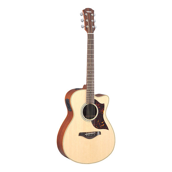 Yamaha AC1M Dreadnought Cutaway Electro Acoustic Guitar - Natural