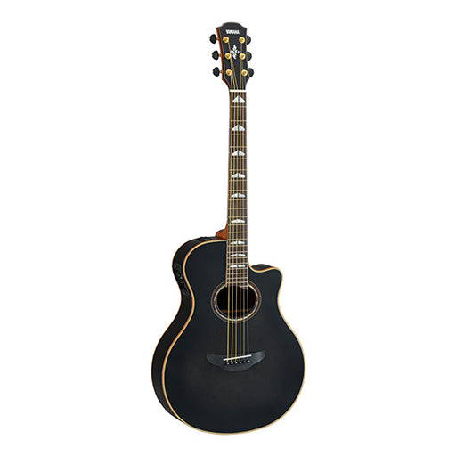 Yamaha APX1200II Cutaway Electro Acoustic Guitar - Translucent Black