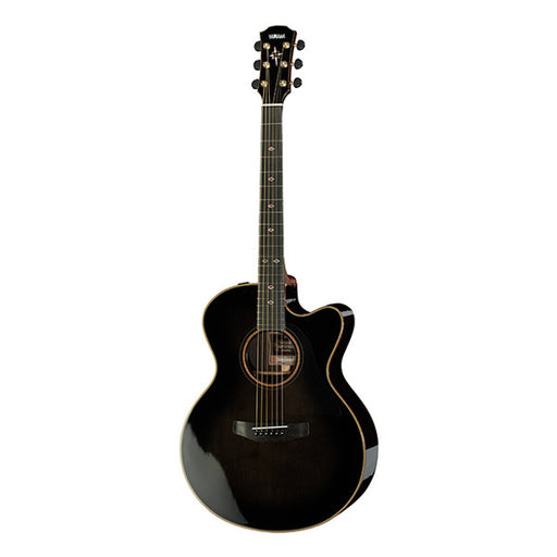 Yamaha CPX1200II Cutaway Electro Acoustic Guitar - Translucent Black