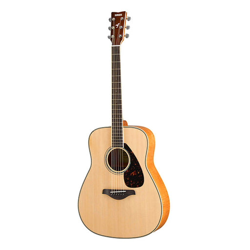 Yamaha FG840SFM Dreadnought Acoustic Guitar - Natural