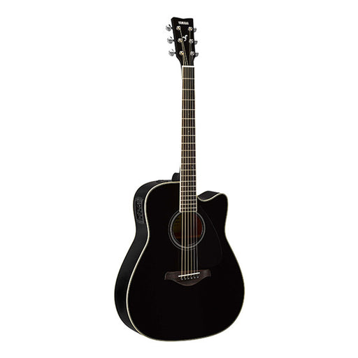 Yamaha FGX820C Dreadnought Cutaway Electro Acoustic Guitar - Black