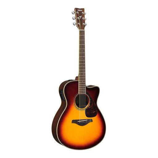 Yamaha FSX830C Cutaway Electro Acoustic Guitar - Brown Sunburst