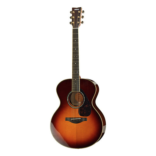 Yamaha LJ 16 A.R.E Dreadnought Electro Acoustic Guitar - Brown Sunburst High Gloss