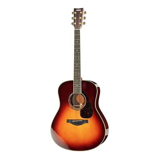 Yamaha LL 16 A.R.E Dreadnought Electro Acoustic Guitar - Brown Sunburst High Gloss