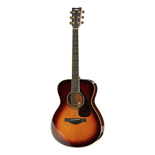 Yamaha LS 16 A.R.E Dreadnought Electro Acoustic Guitar - Brown Sunburst High Gloss