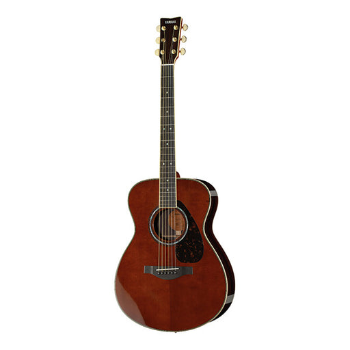 Yamaha LS 16 A.R.E Dreadnought Electro Acoustic Guitar - Dark Tinted