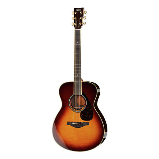 Yamaha LS 6 A.R.E Dreadnought Electro Acoustic Guitar - Brown Sunburst High Gloss