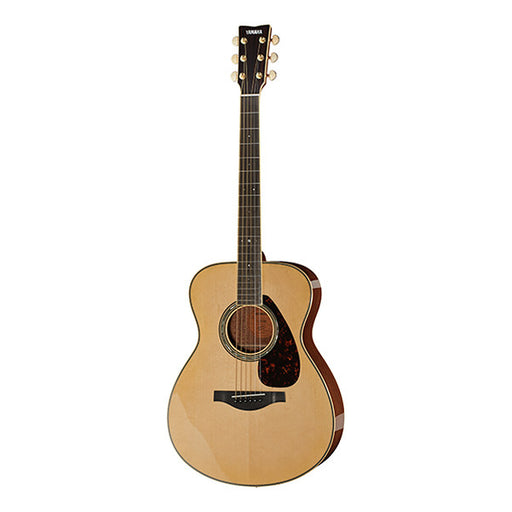 Yamaha LS 6 M A.R.E Dreadnought Electro Acoustic Guitar - Natural High Gloss